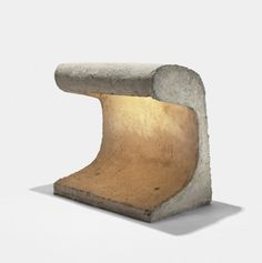 India | Le Corbusier | Outdoor light fixture from Chandigarh Zoo, 1960