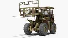Terrain Military Forklift Camo 3D model - TurboSquid 1740660 Military Store, Military Army, Warehouse Equipment, Military Engineering, Small Business License, Lifted Cars, Empire State Building, Tractors, Camo