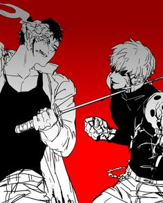 One Punch Man/, Zombie Man and Genos One Punch Man 3, One Punch Man Anime, Anime One, I Love Anime, Manga Anime, Hot Anime, Saitama, Zombie Man, Male Cosplay