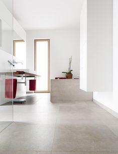 32 Super Ideas For Living Room White Floor Tile Grey Living Room White, White Rooms, Living Room Modern, Home Living Room, Modern Flooring, White Flooring, Flooring Tiles, Bathroom Tile Designs, Living Room Flooring