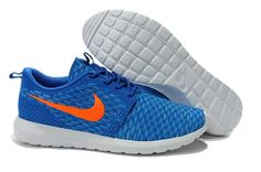 b912aebae1db Buy 2015 Latest Nike Roshe Run Flyknit Mens Running Shoes Outlet Sapphire  Orange Lastest from Reliable 2015 Latest Nike Roshe Run Flyknit Mens Running  Shoes ...