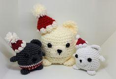 Ravelry: Beary Christmassy pattern by Katrine Tveito
