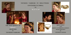 "Vassiliki jewellery in Hollywood Series ""Reign"""