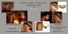 "Vassiliki jewellery in Hollywood Series ""Reign"""