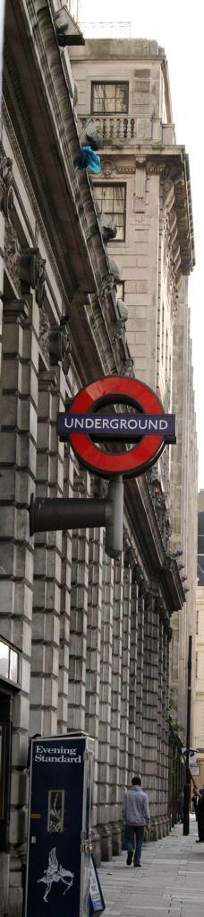 Haha good times on the underground. London, England