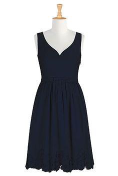 I <3 this Blossom dress from eShakti