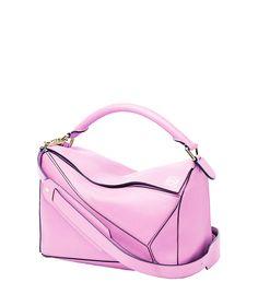 8aca5e0a697a LOEWE Soft Pink Puzzle Bag.  loewe  bags  shoulder bags  leather
