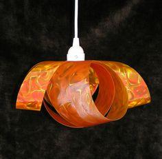 Infinity lamp in orange.