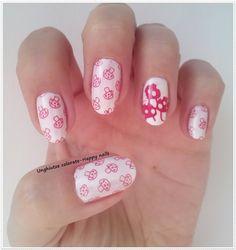 Unghiutze colorate-Happy nails: Alphabet nail art challenge - Letter M