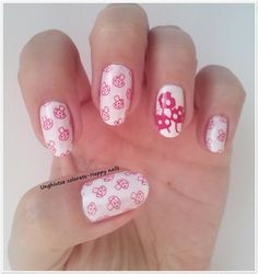 Unghiutze colorate-Happy nails: Alphabet nail art challenge - Letter M #nailart #nails #mani