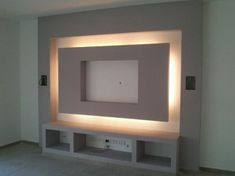 Home Decoration; TV Wall Built In; Tv Wall Cabinets, Fireplace Tv Wall, Modern Tv Wall Units, Living Room Tv Unit Designs, Tv Wall Decor, Tv Wall Design, False Ceiling Design, Decoration Design, Living Room Decor