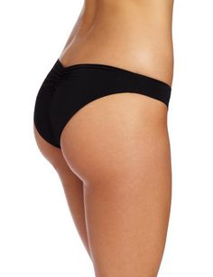 Kiss A Girl Sweetheart Single Hip Piece Bottom Black Color Back. More Info & Check Price:  http://www.beachbunnybikini.com/beach-bunny-bikini-kiss-a-girl-sweetheart-single-hip-piece-bottom/