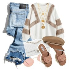 A more and everyday look Hollister, Ray Bans, Sapphire, Girly, Chanel, Shoe Bag, Spring, Casual, Polyvore