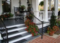 Beautiful southern style porch