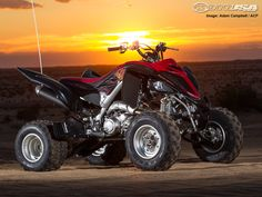 Yamaha continues to crank out some of the best sport quads. We sample its latest premium all-around ATV in our 2013 Yamaha Raptor 700R SE First Ride.