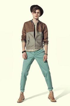 #Moda Hombre  David Naman  Spring Summer 2014 Menswear Collection