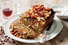 Quinoa cashew loaf