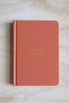 Find this beautiful everyday journal at NoteMaker.com.au!  Mi Goals - Progress Journal - A6 (10x15cm) - Soft Cover - Coral