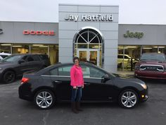 KIMBERLY AND JOSEPH, we're so excited for all the places you'll go in your 2014 Chevrolet Cruze!  Safe travels and best wishes on behalf of Jay Hatfield CDJR and SHAWN STRANG.