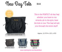 New Day Tote by Thirty One, Spring 2016
