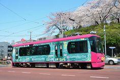 https://flic.kr/p/bwF9zy | TODEN model 8800, #8803 at Asukayama | This is a tram bound for Arakawa-shakomae on Arakawa line operated by model 8800. Photo: Apr. 8th, 2012, Asukayama, Arakawa line, Tokyo., Japan