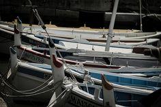 #Méditerranée - #Cassis by richard.malaurie, via Flickr #seaport #boats #contrast