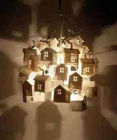 The little paper house . La petite maison de papier … The little paper house Paper Art, Paper Crafts, Diy Crafts, Cut Paper, Diy Originales, House Lamp, Recycled Magazines, Recycled Books, Recycled Art