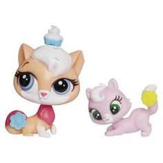 Littlest Pet Shop Pet Pawsabilities Sugar Sprinkles & Ripley Davis