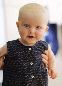 Jumpsuit från emma och malena. Babykläder.