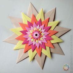 Origami Venetian Star – Stella Veneziana   Origami Tutorials