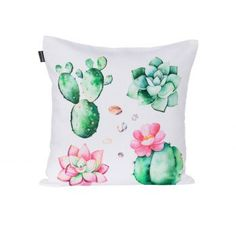 Obliečka Cactus 45x45cm    #vankuse#dremandfun#obyvacka#detskaizba#spalna Ale, Cactus, Throw Pillows, Toss Pillows, Cushions, Ale Beer, Decorative Pillows, Decor Pillows, Scatter Cushions
