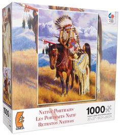 Ceaco Native Portraits The Farewell Jigsaw Puzzle