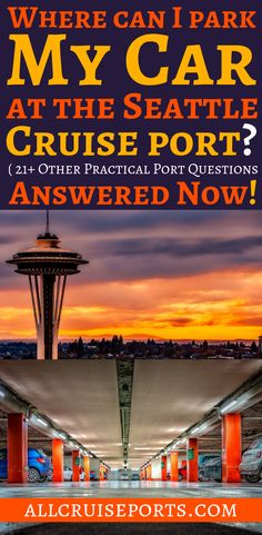 Where can I park my car at the Seattle cruise port? (21+ other practical port  questions answered now!) When you plan your cruise, don't forget to check what else can you do in the most of the beautiful cruise ports to have a best day in every port. Here you will find our best tips and tricks to prepare your cruise! #CruisePorts #CruisePortThingsToDo #CruisePortTrips  #CruisePortFun #ThingsToDoinSeattle #DIYCruiseExcursions