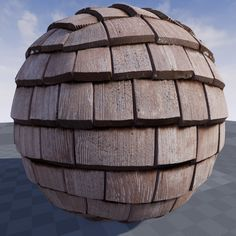 ArtStation - Texture of roofing in Unreal Engine 4.9, Crazy Textures