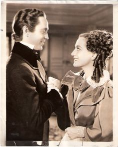 """Joan with second husband Franchot Tone in """"Gorgeous Hussy"""""""