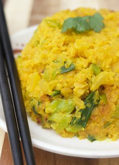 Yellow Lebanese Rice from Beyond the Bite (swede=rutabaga)