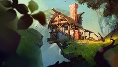 Environment on Behance ★ Find more at http://www.pinterest.com/competing/