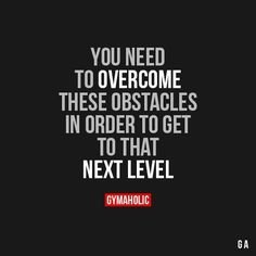 You Need To Overcome These Obstacles