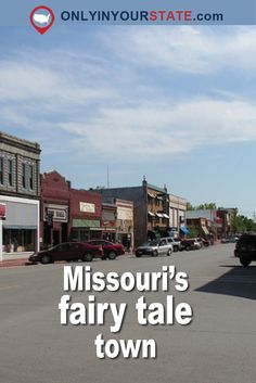 This magical small town in Missouri was once home to Walt Disney, one of the greatest animation artists of all times. Missouri Town, Branson Missouri, Joplin Missouri, Weekend Trips, Day Trips, Weekend Getaways, Places To Travel, Places To Go, Lokal