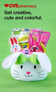 Pass out the Easter smiles! Keep the kiddos entertained for hours with a big basket full of crayons, coloring books and of course, candy!