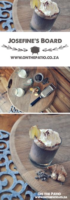Ginger Chocolate, Whiskey Recipes, Vanilla Sugar, Milk, Tray, Board, Noel, Trays, Planks