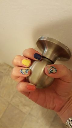 Jamberry Abstract, Grapefruit, Lakeside, and Lemon Quatrefoil