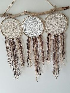 Large Spell Dream Catcher Designs wall hanging dreamcatcher and driftwood