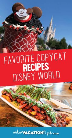 Great Copycat Disney recipes to make at home. Disney Home, Disney Fun, Walt Disney World, Disney Parks, Disney Ideas, Disney Crafts, Disney Stuff, Disney Magic, Disney Vacations