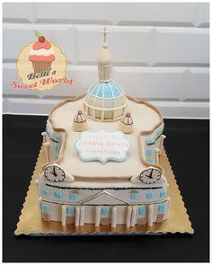 #communioncake #firstcommunion #stpetersbasilicacake #vaticancake #stpetersbasilica #vatican