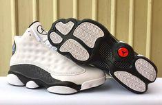 "29ff69ae043b Air Jordan 13 ""Love   Respect"" White Black Retro Jordans 13"
