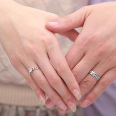 Gemstone Promise Ring for Couples