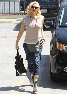 Gwen Stefani struts her killer post-baby body two months after giving birth to her third son in L.A. on May 30