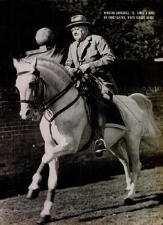 Winston Churchill, Oct. 1946.One of the greatest men that ever lived!