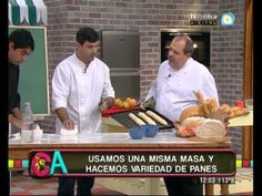 Cocineros argentinos Maestro Juan Manuel Herrera, clase magistral de variedad de panes